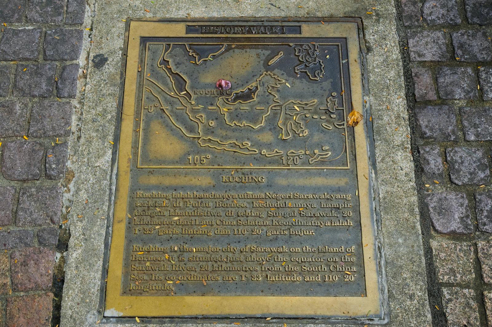 Kuching Waterfront History Walk