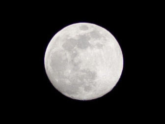Moon shot (100% crop)
