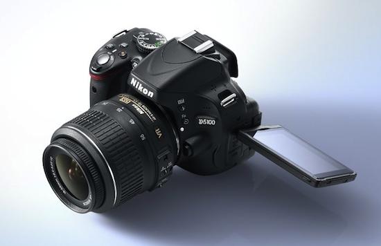The new Nikon D5100