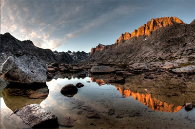Titcomb Basin Sunset HDR by Colby Brown