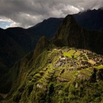 Machu Picchu in the Rain, copyright Steve Davey
