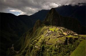 Machu Picchu in the Rain, copyright Steve Davey