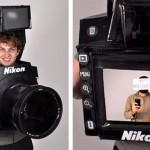 Tyler Card's DSLR Halloween costume